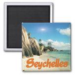 Seychelles Fridge Magnet