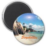 Seychelles Fridge Magnets