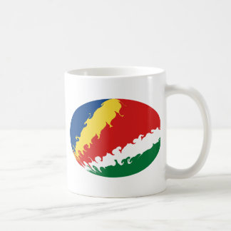 Seychelles Gnarly Flag Mug