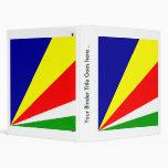 Seychelles High quality Flag Binder