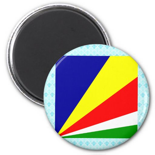 Seychelles High quality Flag Magnets