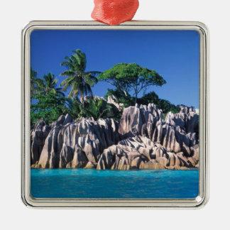 Seychelles. Ilot St. Pierre (near Praslin Metal Ornament