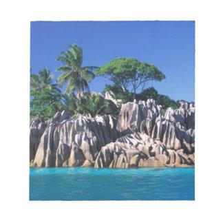 Seychelles. Ilot St. Pierre (near Praslin Notepad
