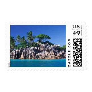 Seychelles. Ilot St. Pierre (near Praslin Stamps