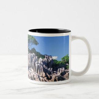 Seychelles. Ilot St. Pierre (near Praslin Two-Tone Coffee Mug