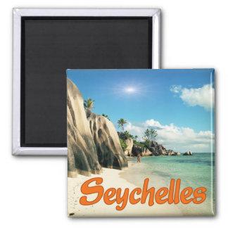 Seychelles Imán Cuadrado