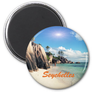 Seychelles Imán Redondo 5 Cm