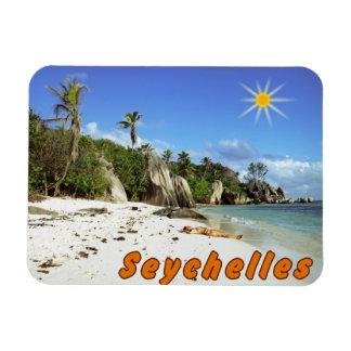 Seychelles Imán De Vinilo