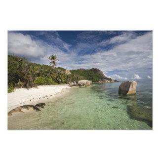 Seychelles, isla de Digue del La, estado 2 de L'Un Fotografía