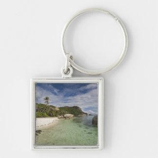 Seychelles, isla de Digue del La, estado 2 de L'Un Llavero