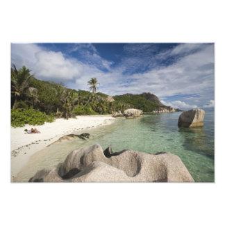 Seychelles, isla de Digue del La, estado de L'Unio Cojinete