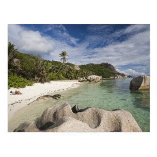 Seychelles, isla de Digue del La, estado de Postales