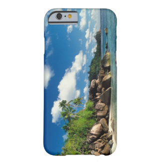 Seychelles isla de Mahe bahía de Lazare Funda De iPhone 6 Slim