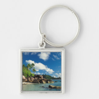 Seychelles, isla de Mahe, bahía de Lazare Llavero Personalizado