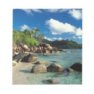 Seychelles, isla de Mahe, playa de Anse Royale. 3 Blocs De Papel