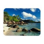 Seychelles, isla de Mahe, playa de Anse Royale. 3 Iman Rectangular