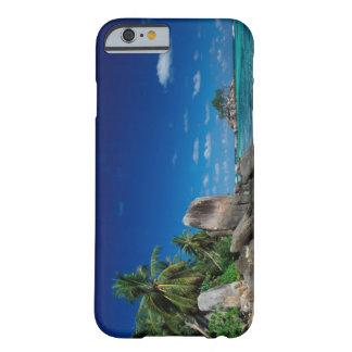 Seychelles isla de Mahe playa de Anse Royale Funda De iPhone 6 Slim