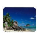 Seychelles, isla de Mahe, playa de Anse Royale Iman Rectangular
