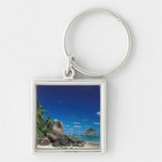 Seychelles, isla de Mahe, playa de Anse Royale Llavero Personalizado