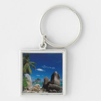 Seychelles, isla de Mahe, playa de Anse Royale Llaveros Personalizados