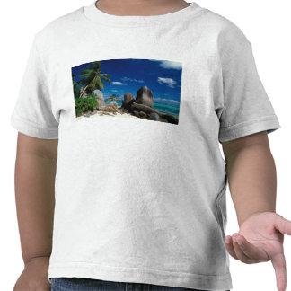 Seychelles, isla de Mahe, playa de Anse Royale Camisetas