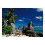 Seychelles, isla de Mahe, playa de Anse Royale Tarjetón