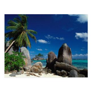 Seychelles, isla de Mahe, playa de Anse Royale Tarjetas Postales