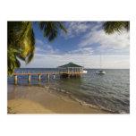 Seychelles, isla de Praslin, Anse Bois de Rose, Postal