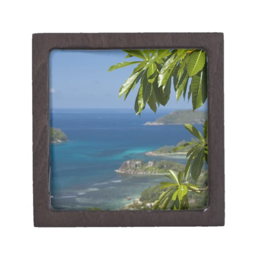 Seychelles, Island of Mahe. Western coast of Keepsake Box