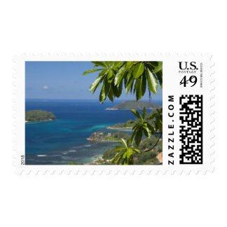 Seychelles, Island of Mahe. Western coast of Postage Stamps
