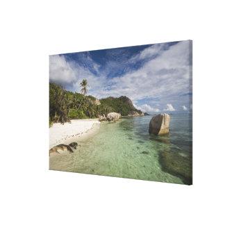 Seychelles, La Digue Island, L'Union Estate 2 Canvas Print