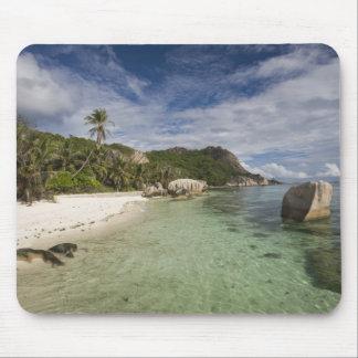 Seychelles, La Digue Island, L'Union Estate 2 Mouse Pad