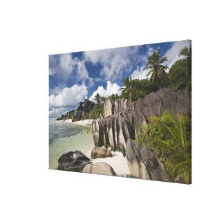 Seychelles, La Digue Island, L'Union Estate Canvas Print