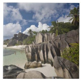 Seychelles, La Digue Island, L'Union Estate Ceramic Tile