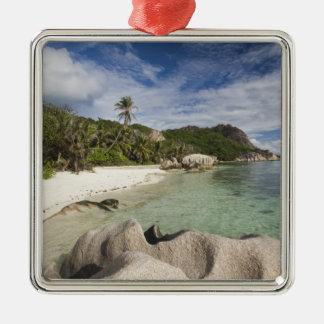 Seychelles, La Digue Island, L'Union Estate Metal Ornament