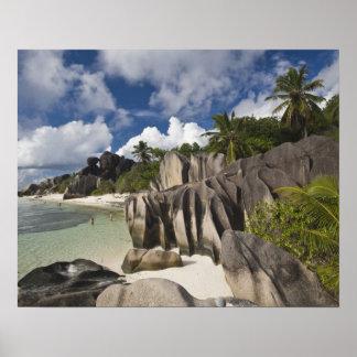 Seychelles, La Digue Island, L'Union Estate Poster
