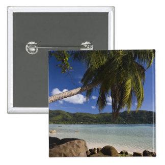 Seychelles, Mahe Island, Anse a la Mouche Pinback Button