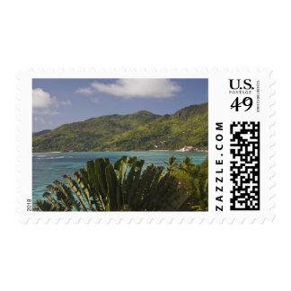 Seychelles, Mahe Island, Anse Royale Bay, view Stamp