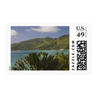 Seychelles, Mahe Island, Anse Royale Bay, view Stamp