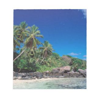Seychelles, Mahe Island, Anse Royale Beach. 2 Notepad