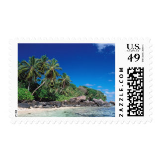 Seychelles, Mahe Island, Anse Royale Beach. 2 Postage Stamp