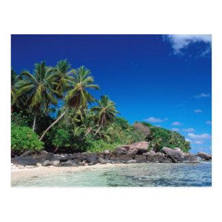 Seychelles, Mahe Island, Anse Royale Beach. 2 Postcard