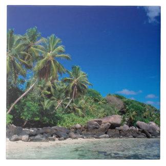 Seychelles, Mahe Island, Anse Royale Beach. 2 Tile