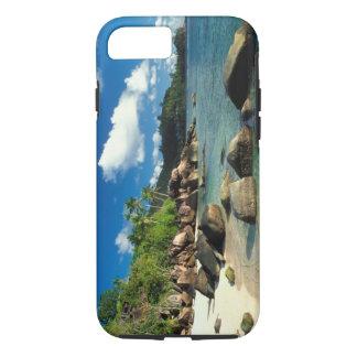 Seychelles, Mahe Island, Anse Royale Beach. 3 iPhone 7 Case
