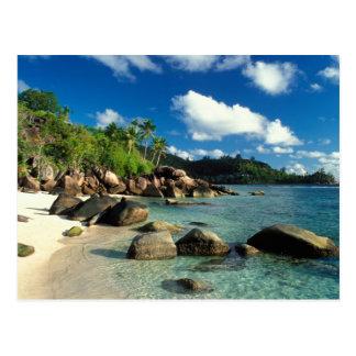 Seychelles, Mahe Island, Anse Royale Beach. 3 Postcard
