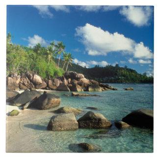 Seychelles, Mahe Island, Anse Royale Beach. 3 Tile