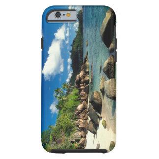 Seychelles, Mahe Island, Anse Royale Beach. 3 Tough iPhone 6 Case