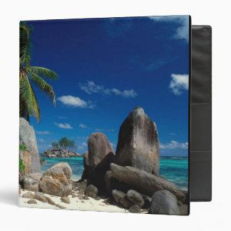 Seychelles, Mahe Island, Anse Royale Beach. Binder