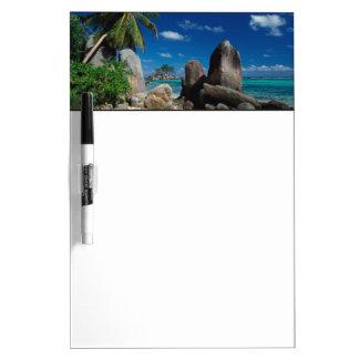 Seychelles, Mahe Island, Anse Royale Beach. Dry Erase Board