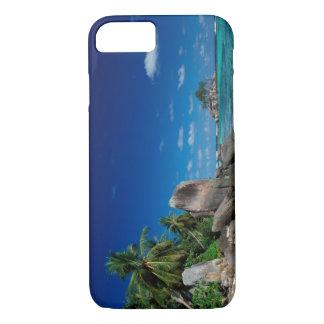 Seychelles, Mahe Island, Anse Royale Beach. iPhone 7 Case